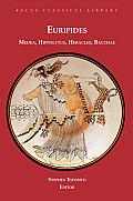 Euripides Four Plays Medea Hippolytus Heracles Bacchae