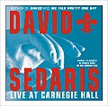 David Sedaris Live At Carnegie Hall Cd