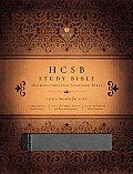 Study Bible-HCSB: God's Word for Life