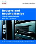 Routers & Routing Basics CCNA 2 Companion Guide With CD ROM