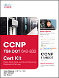 CCNP TSHOOT 642 832 Cert Kit Video Flash Card & Quick Reference Preparation Package