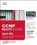 CCNP Route 642 902 Cert Kit Video Flash Card & Quick Reference Preparation Package