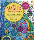 Tangled Treasures Coloring Book: 50 Intricate Tangle Drawings to Color with Pens, Markers, or Pencils