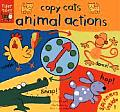 Animal Actions (Copy Cats Spinner Board Books)