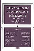Advances in Psychology Researchv. 22