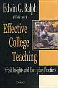 Effective College Teaching