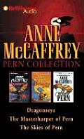 Anne McCaffrey Pern Collection Dragonseye the Masterharper of Pern the Skies of Pern