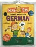Hear Say German Audio Cd & Book