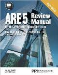 Ppi Are 5 Review Manual for the Architect Registration Exam (Revised, Paperback) - Comprehensive Review Manual for the Ncarb 5.0 Exam
