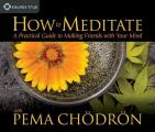 How to Meditate with Pema Ch?dr?n: A Practical Guide to Making Friends with Your Mind