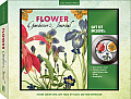 Flower Gardeners Journal & Magnet Gift Set Record Garden Information Keep Track of Plants & Inspire Yourself