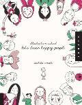 Illustration School Lets Draw Happy People