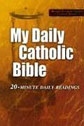 Bible Rsv My Daily Catholic Bible 20 Minute Daily Readings