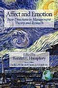 Affect and Emotion: New Directions in Management Theory and Research (PB)