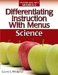 Differentiating Instruction with Menus: Science (Grades K-2)