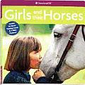 Girls & Their Horses With 24 Horse Trading Cards & 3 Mini Posters