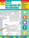 Daily Academic Vocabulary Grade 4 [With Transparencies]