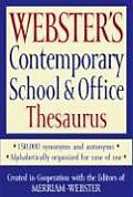 Websters Contemporary School & Office Thesaurus