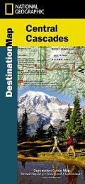 Central Cascades Destination Map