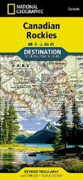 National Geographic Destination Map||||Canadian Rockies