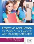Effective Instruction For Middle School Students With Reading Difficulties The Reading Teachers Sourcebook