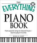 Everything Piano Book with CD From Popular Songs to Classical Music Learn to Play in No Time