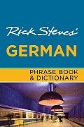 Rick Steves German Phrase Book & Dictionary 6th Edition