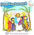 My First New Testament Bible Storeis with Music CD