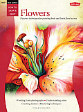 Flowers: Discover Techniques for Painting Fresh and Lively Floral Scenes