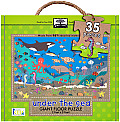 Under the Sea Green Start Giant Floor Puzzle