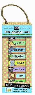 Green Start Book Tower Little Animal Books