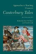 Approaches to Teaching Chaucers Canterbury Tales Second Edition