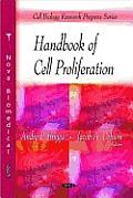 Handbook of Cell Proliferation