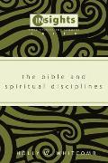 The Bible and Spiritual Disciplines