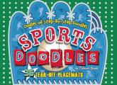Sports Doodles Doodle & Learn Placemats