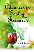 Advances in Zoology Researchvolume 6