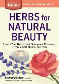 Herbs for Natural Beauty A Storey Basics Title