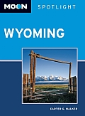 Moon Spotlight Wyoming