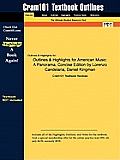 Outlines & Highlights for American Music: A Panorama, Concise Edition by Lorenzo Candelaria, Daniel Kingman