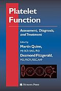 Platelet Function: Assessment, Diagnosis, and Treatment