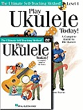 Play Ukulele Today! Beginner's Pack: Level 1 Book with Online Audio & Video [With CD (Audio) and DVD]