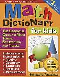 Math Dictionary for Kids 4th Edition The Essential Guide to Math Terms Strategies & Tables