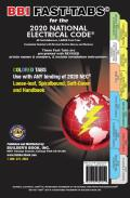 National Electrical Code 2020 COLORED Fast Tabs For Softcover Spiral Loose Leaf & Handbook NEC