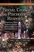 Social Change & Psychosocial Responses