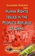 Human Rights Issues in the Peoples Republic of China
