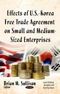 Effects of U.S.-Korea Free Trade Agreement on Small and Medium-Sized Enterprises