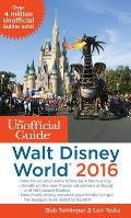 Unofficial Guide to Walt Disney World 2016