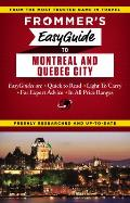 Frommers Easyguide to Montreal & Quebec City