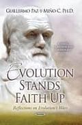 Evolution Stands Faith Up
