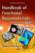 Handbook of Functional Nanomaterials Volume 3